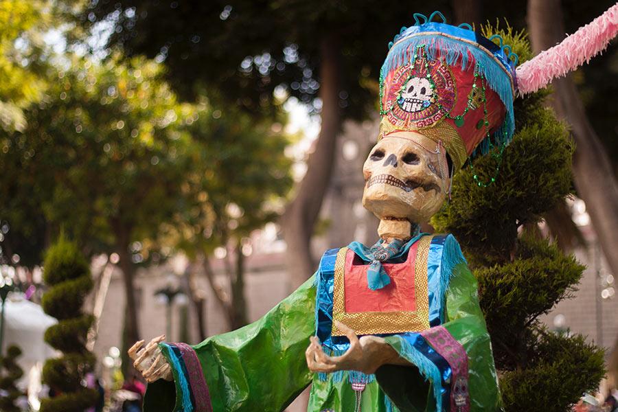 El Dìa de los muertos – der Tag der Toten Mexiko